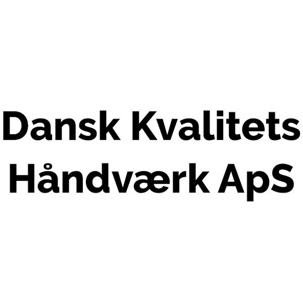 Dansk Kvalitets Håndværk ApS